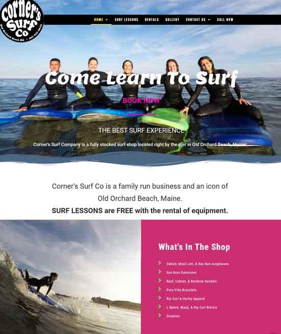Corners Surf dot com