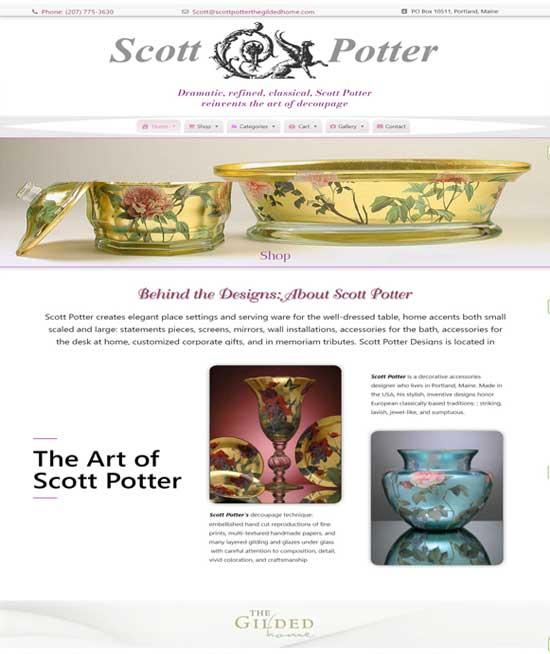 Scott Potter The Gilded Home dot com