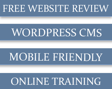 Mobile friendly website design Maine, WordPress web development Kennebunkport Maine