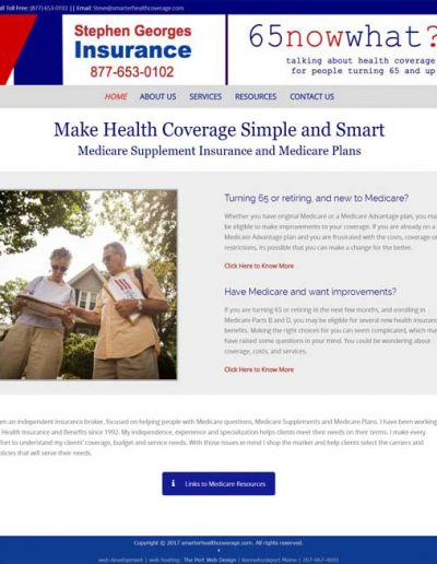 Smarter Health Coverage dot com