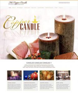 The Copper Candle dot com